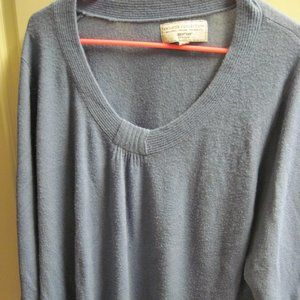 Women's Avenue Blue Sweater Size26/28